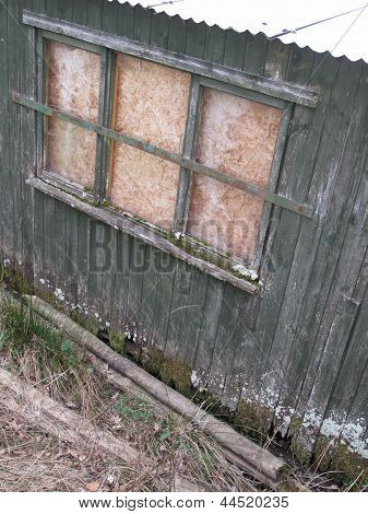 Old Windowed Shack