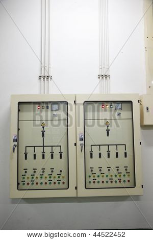 Electrical Energy Control Cabinet.