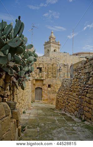 Rabat Cittadella In  Gozo Malta