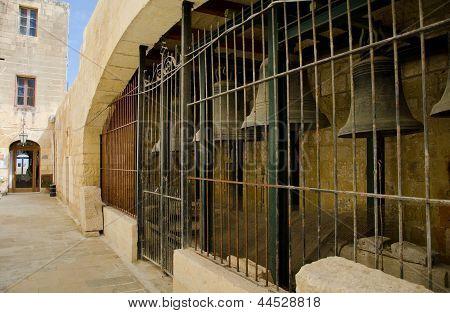 Bells In Cittadella Rabat, Gozo Malta