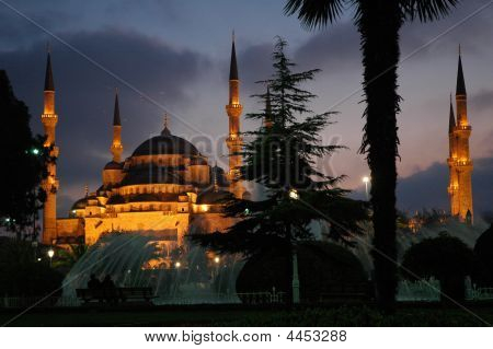 Hagia Sophia By Night. Istanbul. Turkey