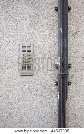 Wall With Intercom