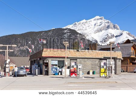 Petro-Canada fuel station Banff