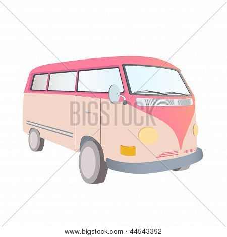 Retro Van Design.