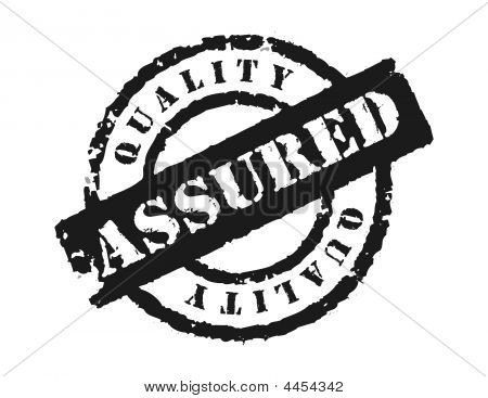 Stamp 'quality Assured'