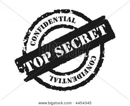 Stamp 'top Secret'