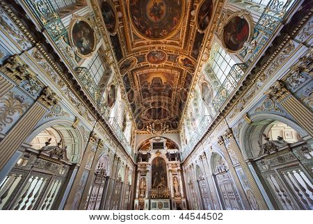 Trinity Chapel, Chateau de Fontainebleau, France