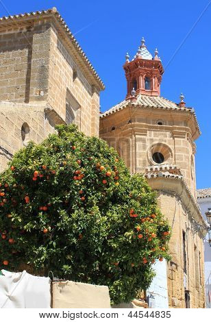 Church Steeple In Osuna, Andalusia, Spain