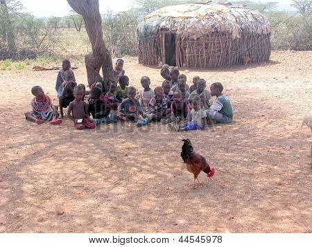 Children of a Samburu Village
