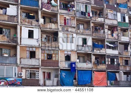 Old Soviet Living Blocks
