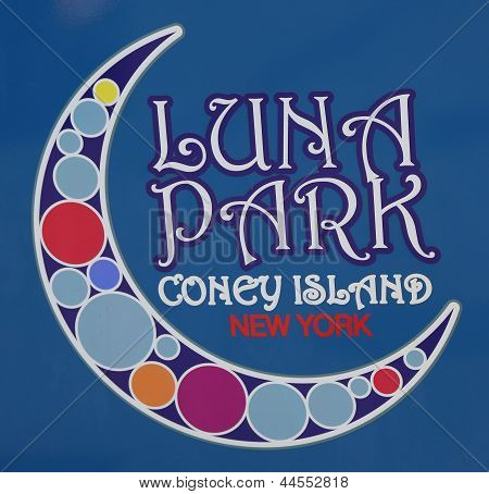 Coney Island Luna Park emblem