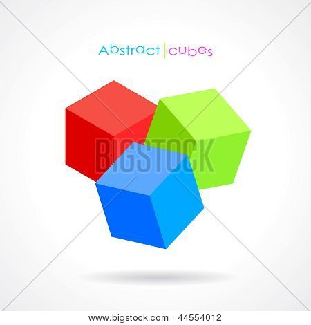 Vector abstract cubes
