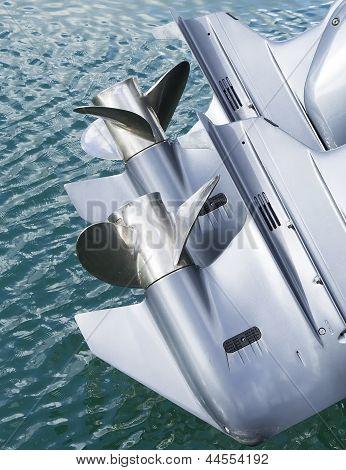 Outboard Motor Propeller of my boat