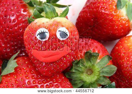 Fresh Red Strawberriers
