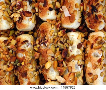 sweets with nuts
