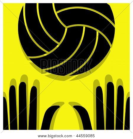 Volleyball Pictogram