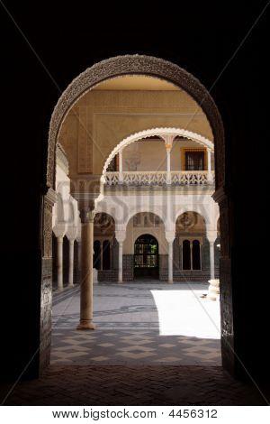 Patio Inside A Palace