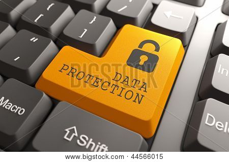 Data Protection Button.