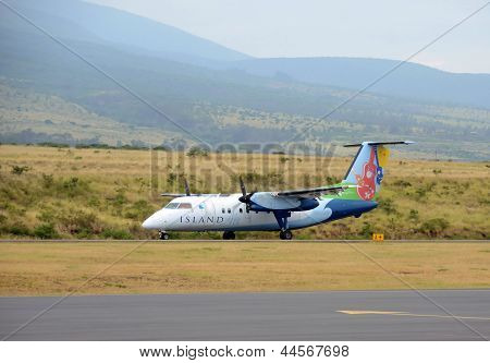Island Air Regional Flight From Maui, Hawaii