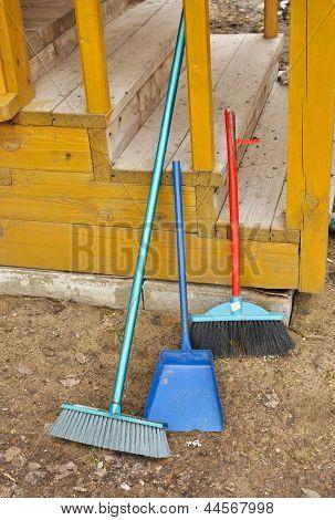 Shovel And Broom.