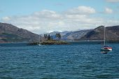 picture of carron  - Loch Carron from Plockton. Highlands of Scotland.