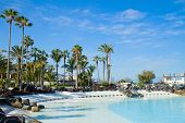 stock photo of lagos  - public pools Lagos Martianes at  Puerto de la Cruz - JPG