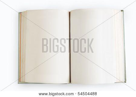 Open Book Close-up