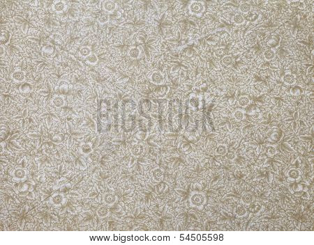 old decorative print background