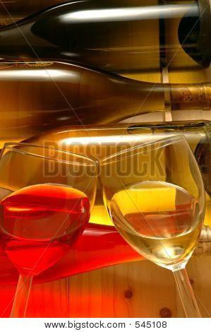 Wine Bottles & Glasses