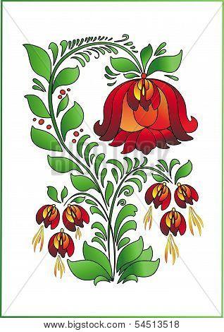 Scarlet Flower