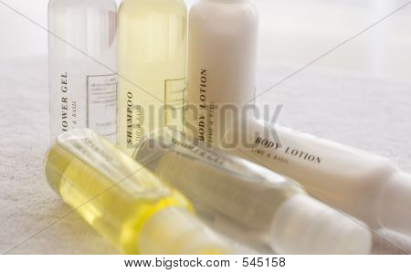 Shower Shampoo Body Lotion
