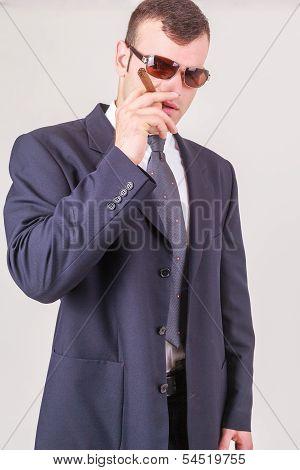 Suave successful businessman or CEO
