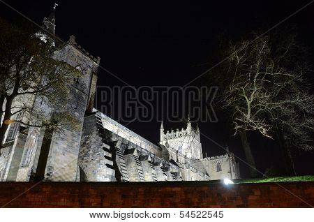 Night at Dunfermline Abbey