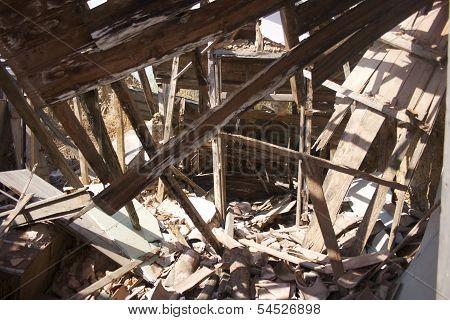 Derelict Building Interior