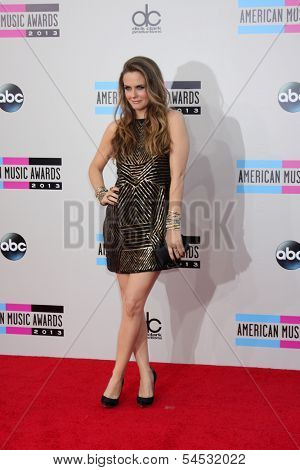 LOS ANGELES - NOV 24:  Alicia Silverstone at the 2013 American Music Awards Arrivals at Nokia Theater on November 24, 2013 in Los Angeles, CA