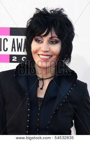 LOS ANGELES - NOV 24:  Joan Jett at the 2013 American Music Awards Arrivals at Nokia Theater on November 24, 2013 in Los Angeles, CA
