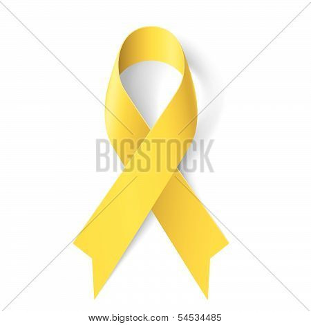 Yellow ribbon.