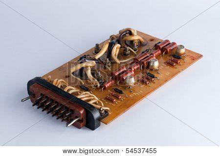 Old Microcircuit Board