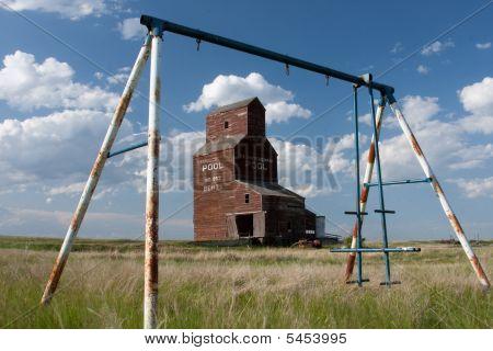 Old Prairie Grain Elevator