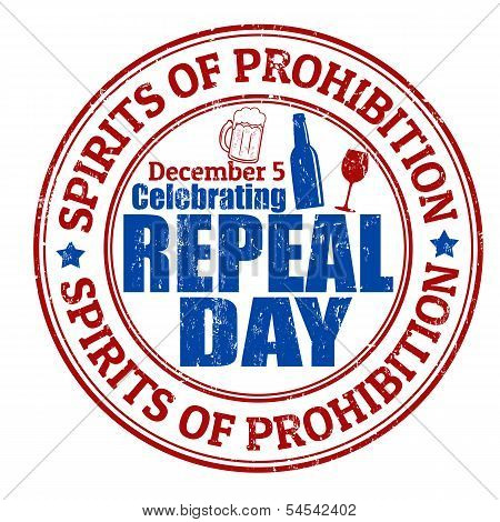 Repeal Day Stamp