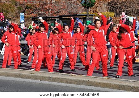 20th annual UBS Thanksgiving Parade Spectacular, in Stamford, Connecticut