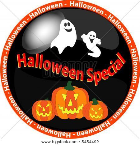 Halloween Special Button