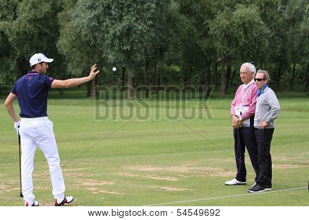Gregory Bourdy at the Golf French Open 2013