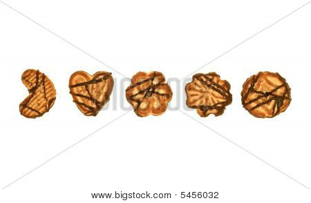 Cookies In A Row