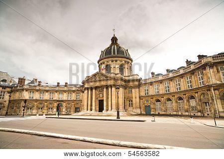 Paris, Institut De France Building. French Academy Of Sciences
