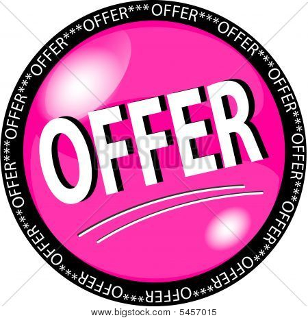 pink offer button