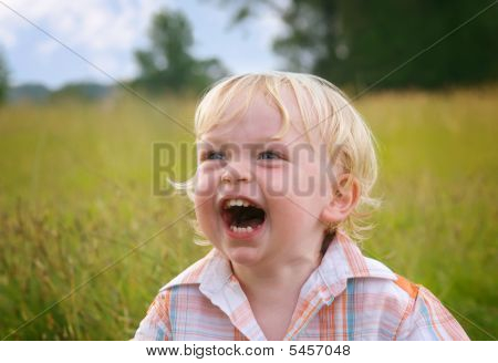 Cute Toddler Laughing
