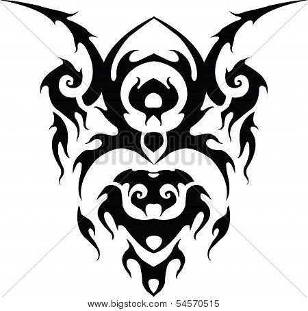 Clitoris is thai tattoo design.