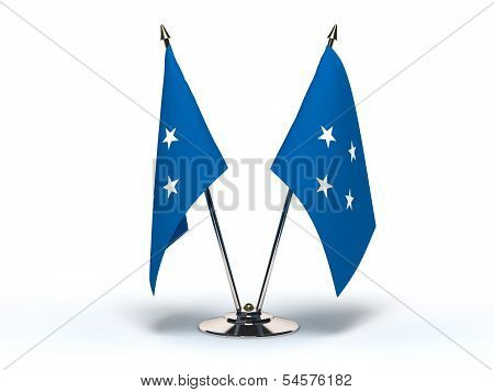 Miniature Flag Of Micronesia