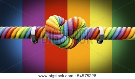 Tie The Knot With Rings Gay Marriage